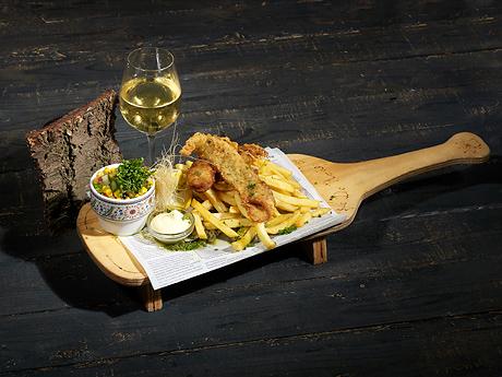 Restaurant Eetmakerij Fish and Chips Boscafé De Rode Lelie