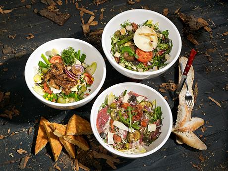 Restaurant Eetmakerij Salades Boscafé De Rode Lelie